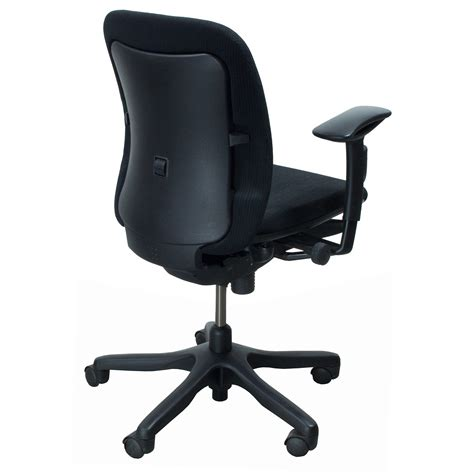 Teknion Office Chair by Teknion Amicus Synchro Used Task Chair Black National