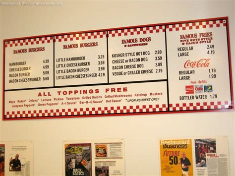 five guys 12 things you didn t about five guys secret menus
