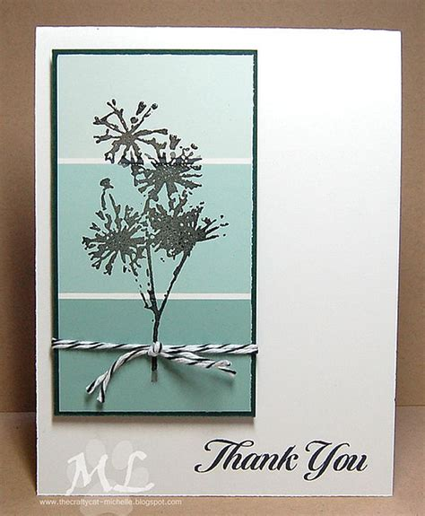 Handmade Thank You Card Designs - 9 ideas for easy thank you cards paint chips
