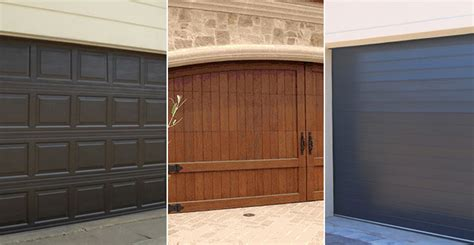 Fiberglass Garage Door Prices Steel Garage Doors Vs Wood Vs Aluminum Vs Fiberglass Comparison Garage Door Installation