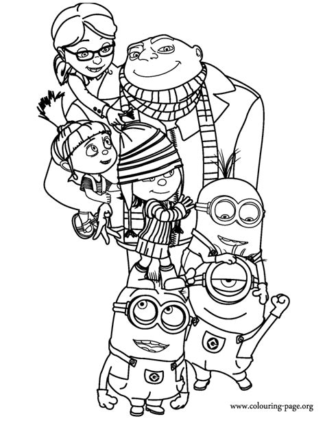 minions coloring pages of phil coloring pages of minions from despicable me minions