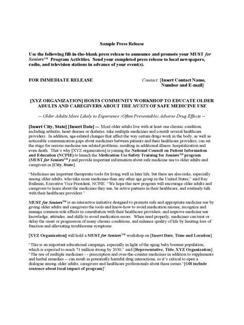 template of press release press release template 12 free templates in pdf word