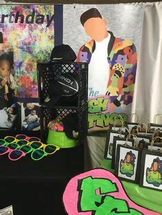 fresh prince inspired  hip hop party theme hostess   steves  hip