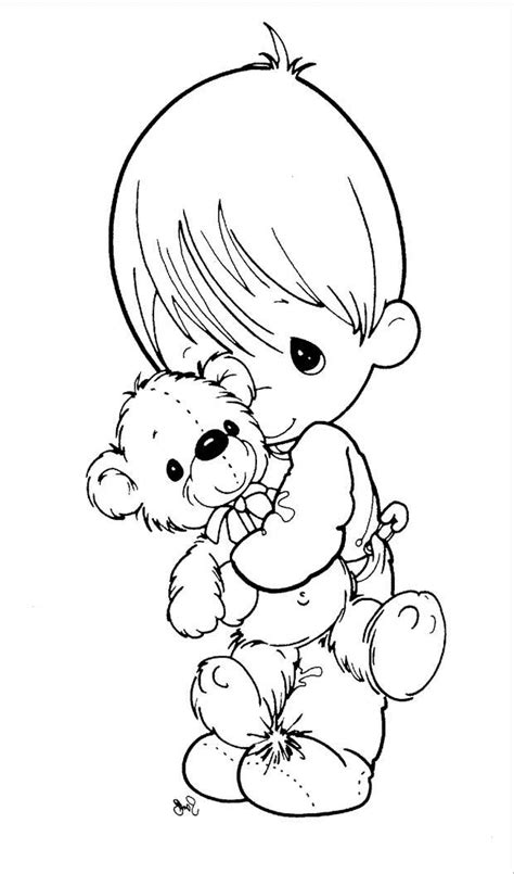 Precious Moments Angel Coloring Pages Coloring Home Precious Moments Boy Coloring Page Free