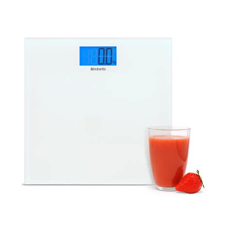 White Bathroom Scales by Brabantia White Digital Bathroom Scales Leekes