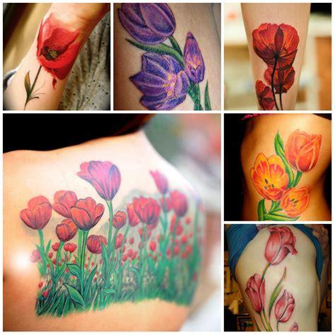 disegnare fiori significato sottile tulip disegni tatuaggio tatuaggi e piercing