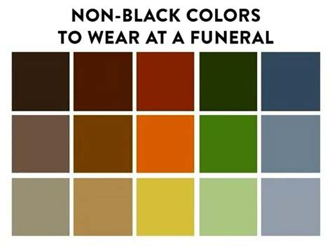 what colors to wear to a funeral what to wear at a funeral funeral ideas colors
