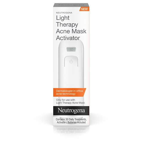 light therapy acne spot treatment amazon com neutrogena light therapy acne spot treatment