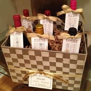 wine basket poem wedding shower gift i made this for a