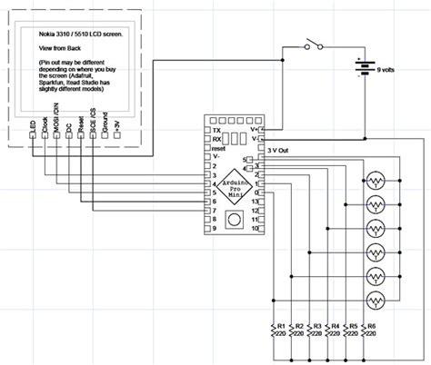 Nokia 3310 Schematic Diagram