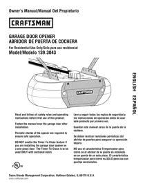 Download Craftsman Assurelink Internet 3 4 Hp Dc Belt Craftsman 3 4 Hp Garage Door Opener Manual