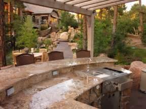 Pre Built Kitchen Islands Outdoor Kitchen Island Options And Ideas Hgtv