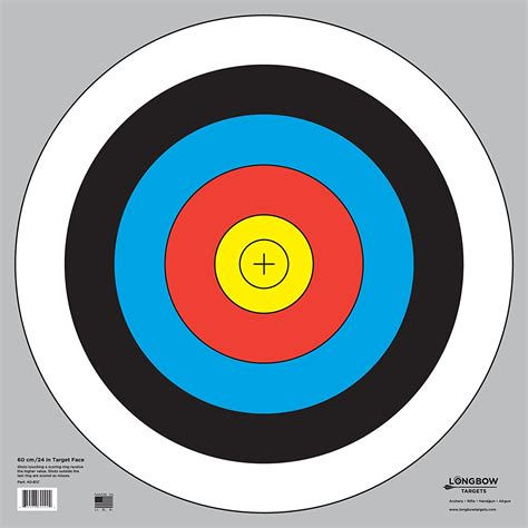 bullseye template printable printable archery targets 20 yards pictures to pin on