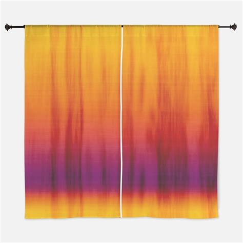 orange material for curtains purple and orange window curtains drapes purple and