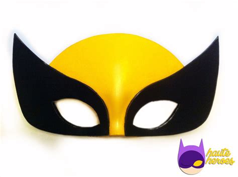 printable wolverine mask how to draw wolverine masks