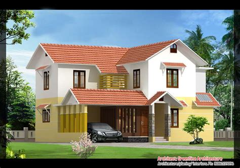 beautiful home images 2 beautiful kerala villa elevations 2640 and 2100 sq ft