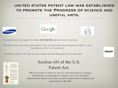 patent law section 101 patents war apple vs samsung