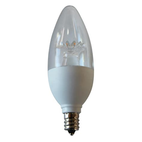 E12 Led Light Bulb Ecosmart 40w Equivalent Daylight B11 E12 Energy And Dimmable Led Light Bulb 3 Pack
