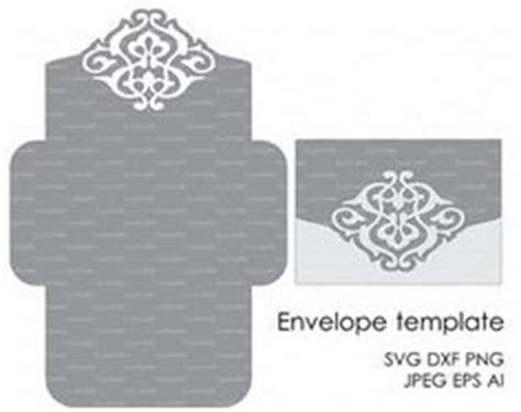 basic card template for silhouette wedding envelope template instant cutting file