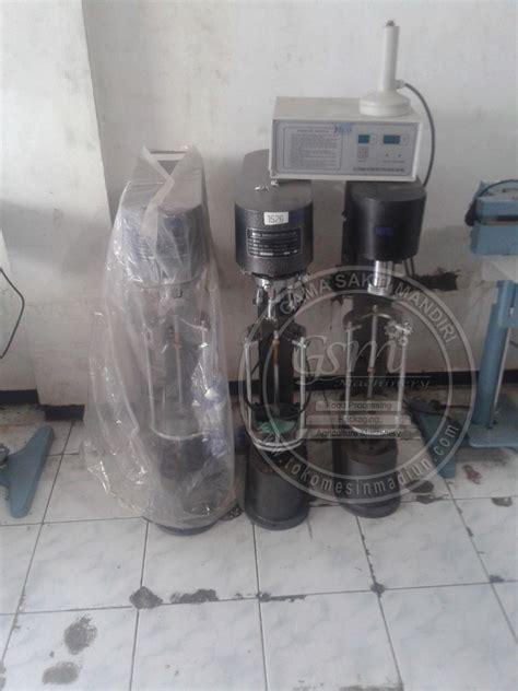 Jual Alat Penutup Botol Plastik Manual mesin untuk penutup botol kaca dan plastik murah