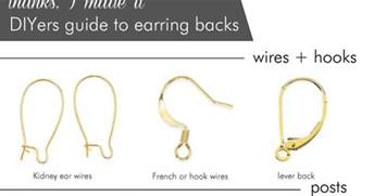 earring back types earrings what are the different types of earring backs