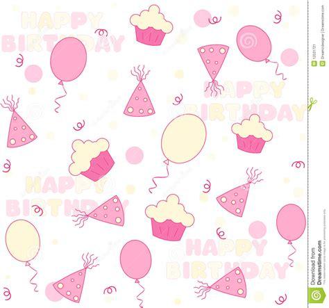 seamless pattern birthday birthday party seamless pattern stock vector image 12531721