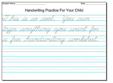 printable handwriting worksheets for grade 4 printable handwriting worksheet worksheets