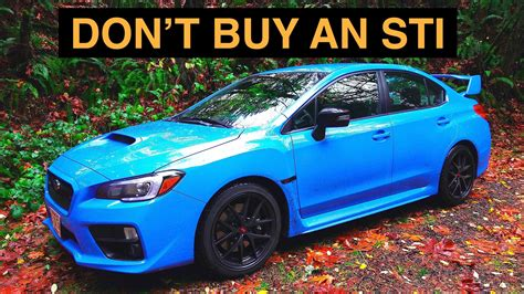 2016 subaru wrx turbo youtuber gives 7 reasons not to buy a 2016 subaru wrx sti