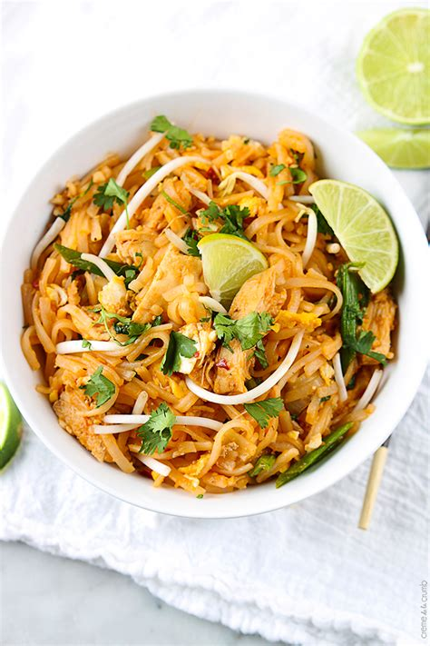 chicken pad thai by creme de la crumb foodblogs