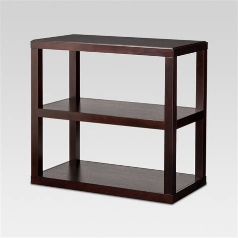 console bookcase espresso threshold target