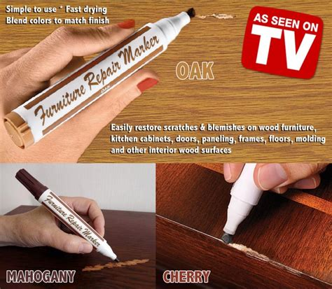 How To Repair Cherry Wood Furniture by Furniture Repair Stain Touch Up Markers Restore Wood