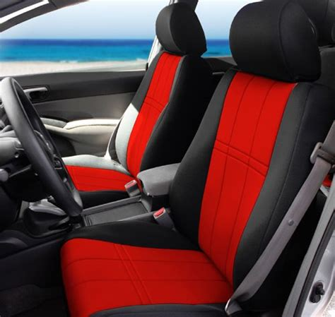 Ford Edge Seat Covers Caltrend Front Row Custom Fit Seat Cover For Ford
