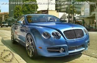 Bentley Beverly Ca Blue Bentley