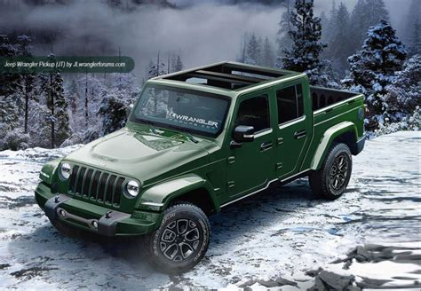 new jeep truck 2018 jeep wrangler redesign release date diesel pickup
