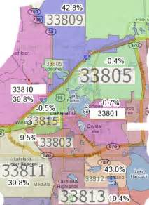lakeland florida zip code map lakeland s population growth by zip lakeland local