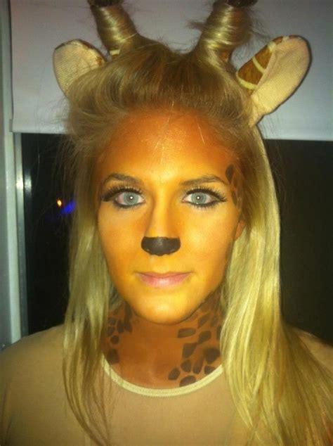 halloween hairstyles pinterest giraffe makeup halloween pinterest schminktipps