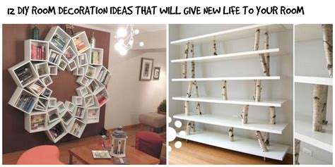 how to make room decorations 12 simple diy room interior decoration ideas