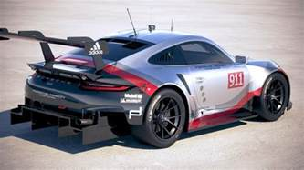 Porsche 911 Models Porsche 911 Rsr 2017 3d Model Cgstudio