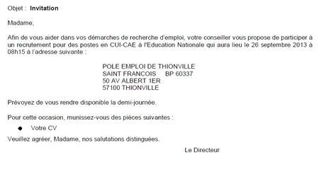 Modèle De Lettre D Invitation à Une Assemblée Générale Lettre De Demande D Emploi A Un Directeur Employment Application