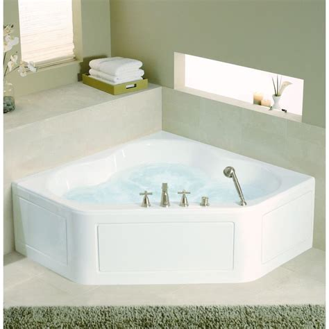 corner jacuzzi bathtub kohler corner bathtub lowes corner bathtub tub lowes