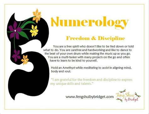 feng shui by bridget s numerology 5 my style pinterest