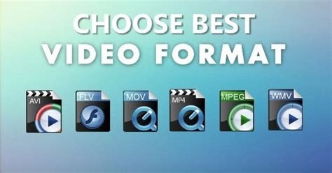 best format video quality quick guide choose best video formats for better video