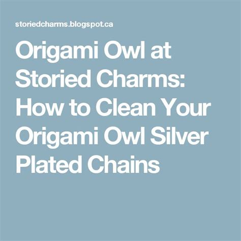 How To Clean Origami Owl Jewelry - 17 best images about origami owl on origami