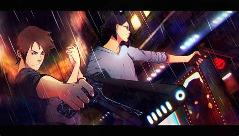 anime epic adventure an epic anime portrait by luc 237 a garc 237 a artcorgi