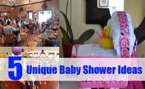 top 5 unique baby shower ideas how to plan for a baby