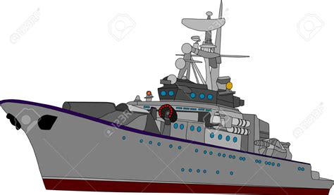 war boat clipart navy clipart military ship pencil and in color navy