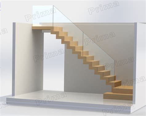 L Shaped Stairs Design Indoor Wooden Design L Shaped Stairs With Stainless Steel Glass Handrail Buy Stainless Steel