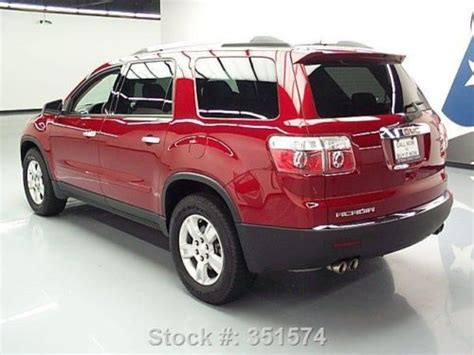 8 passenger gmc acadia sell used 2012 gmc acadia 8 passenger leather alloy wheels