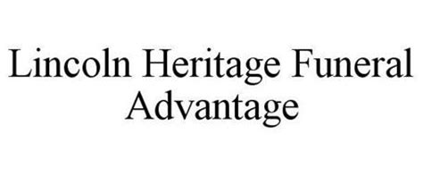 lincoln heritage logo lincoln heritage funeral advantage reviews brand