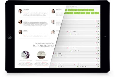 wordpress page template creator images templates design